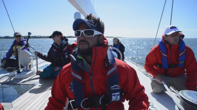 Video on the Warrior Sailing Program