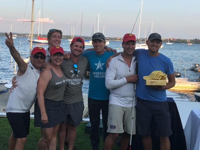 Great Lakes Warrior Sailing Races in the Hounddog