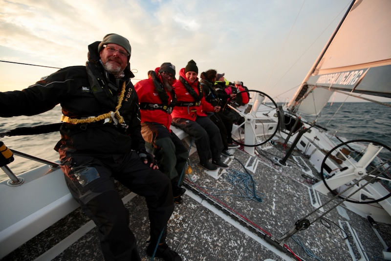 Warrior Sailors Tough It Out on Lake Michigan
