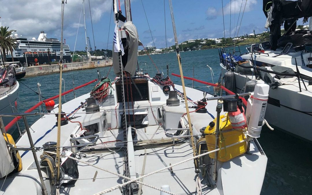Kings Point Academy Sailors Excel in the Newport to Bermuda Race