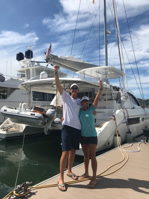 S/V Happy Together Spreading the Word