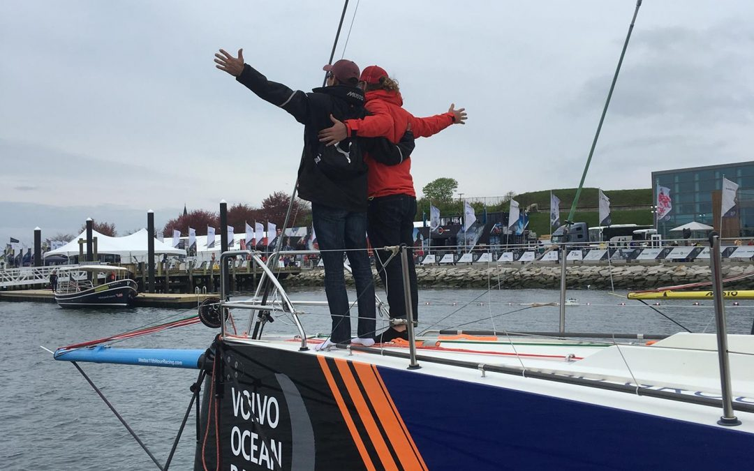 Warrior Sailors Compete with Volvo Ocean Race Pros