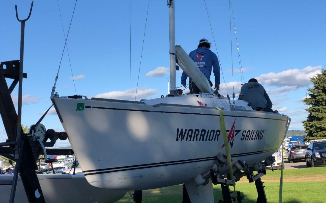 Warrior Sailing attends the 2019 Red Fox Regatta